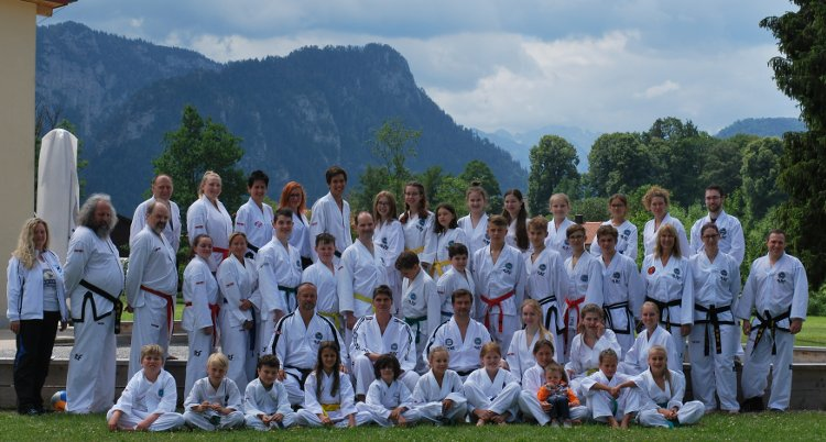 Inzell 2018 Gruppe