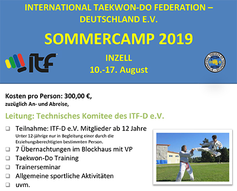 Inzell 2019 Sommercamp